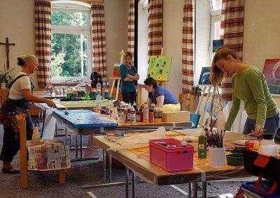 Unser Atelier im Kloster