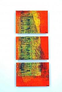 D-8,-3mal13x18cm,-Mischtechnik&Druck-auf-Malplatten,-2013