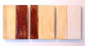 ROST-14,-3mal-24x34cm,-Mischtechnik-auf-MDF-Platten,-2011