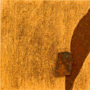 ROST-15-Serie-6-1-7-(2),-18x18cm,-Metall-auf-Holzplatte,-2011