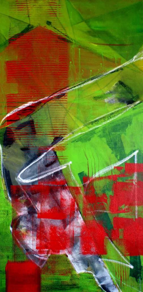 ohne-Titel-4,-50x100cm,-Mischtechnik-auf-Nesselgewebe,-2011