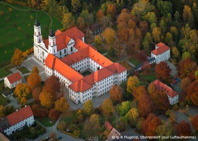 Kloster Irsee ©Foto H-R Flugbild, Oberstdorf (nur Luftaufnahme)