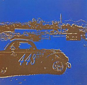 Titel: WSD15_1, 20x20cm, Siebdruck auf Holz, 2017